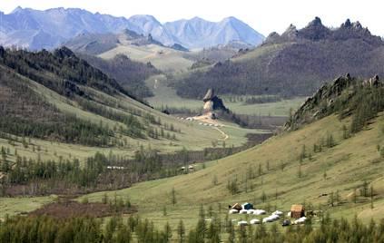 paesaggio mongolia